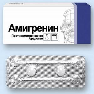 Лекарство против приступа мигрени