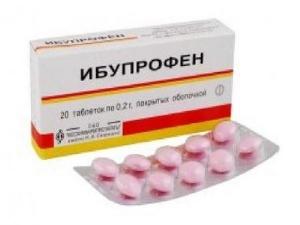 Ибупрофен НПВС от мигрени