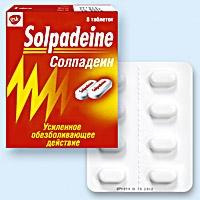 Лечение головной боли солпадеином