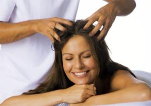 Как работает массаж головы