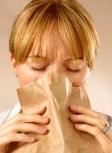 Нехватка воздуха из-за невроза