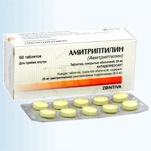Лечение невротического расстройства Амитриптиллином
