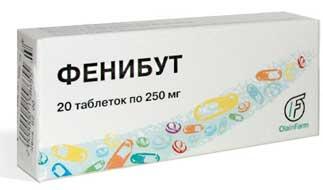 Фенибут ноотропный препарат