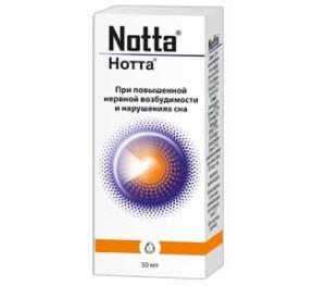 Успокаивающий препарат Нотта